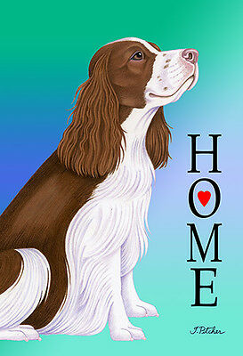 Garden Indoor/Outdoor Home (TP) Flag - English Springer Spaniel 620311