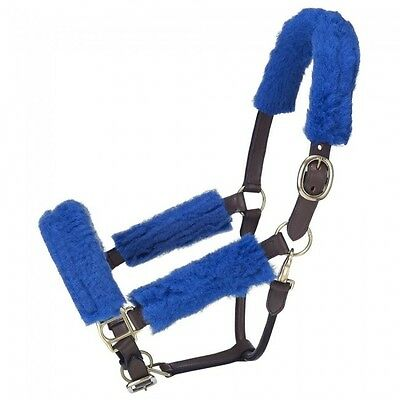 Tough 1 Royal Blue Halter Fleece Tubing Kit horse tack equine 60-997