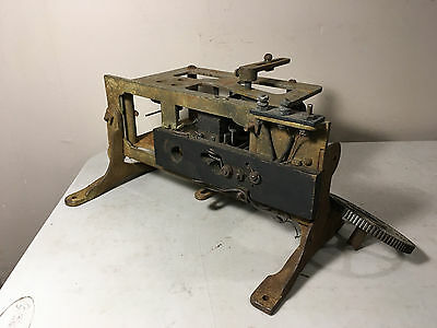 Antique Electric Solenoid Actuator with Switch Terminals Controls Clockwork 180*