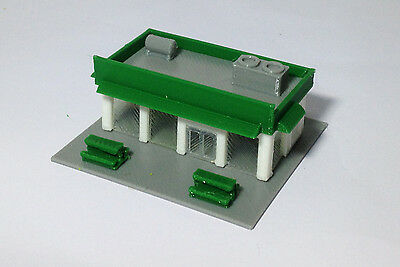 Outland Models Train Railway Layout City Convenience / Grocery Store Z Gauge