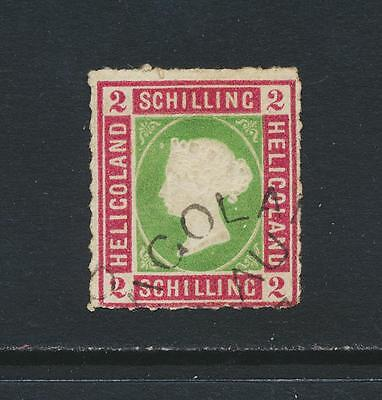 Heligoland 1867, 2Sch Vf Used Sg#3 (See Below)