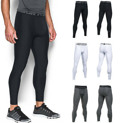 Under Armour UA Mens NEW 2017 HeatGear 2.0 Compression Leggings Baselayer Tights