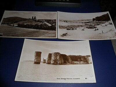 3 x DEARDEN AND WADE POSTCARDS-UNUSED 1920/30s?-£1.50-STARTER-0.85p UK POSTAGE