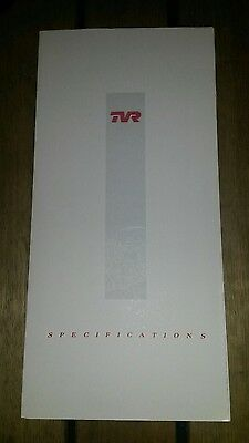 TVR Specifications Brochure - S3 V8S Griffith 400 450 - UK Market