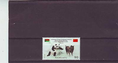 VANUATU - SG1117 MNH 2012 30th ANNIV DIPLOMATIC  RELATIONS WITH CHINA
