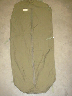 Orig.NL Armee  Polycotton Inlet Schlafsack Inliner CARINTHIA DEFENCE 4 NEU