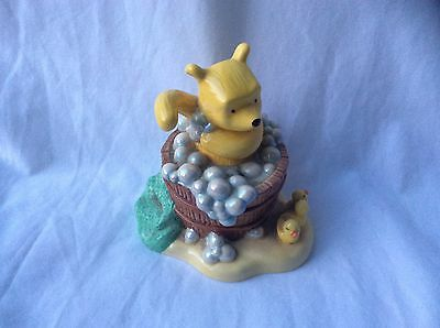 ROYAL DOULTON Winnie the Pooh Bathtime Collection Hand Made Figurine