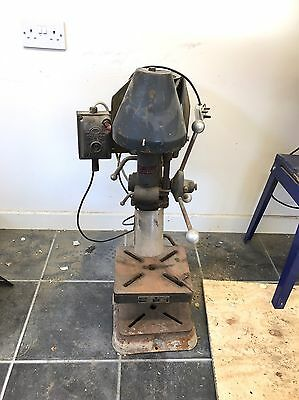 Vintage Pillar Drill In Working Condition