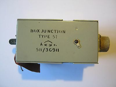WWII RAF Aircraft Junction box type 51  Lancaster Halifax Stirling etc