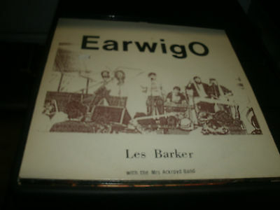 Les Barker With The Mrs Ackroyd Band - Earwigo Vinyl Lp Record.