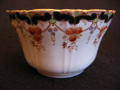 "ART NOUVEAU SHORE ,COGGINS & HOLT 'ALEXANDRA' CHINA 5.5"" D SLOP BOWL c.1905 EX"