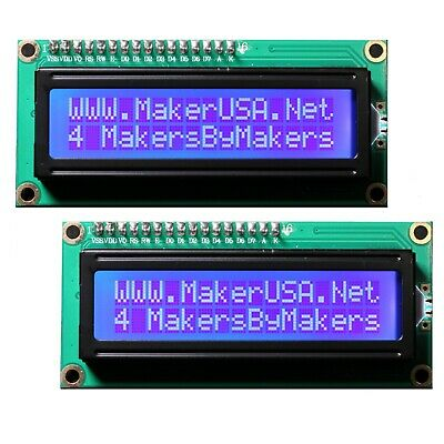 IIC/I2C/TWI 1602 Serial Blue Backlight LCD Display For Arduino