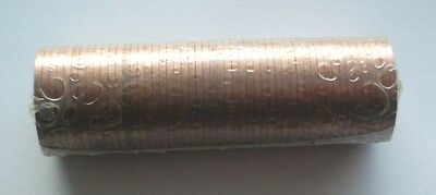 UNOPENED MINT CONDITION ROLL OF 1971 HALF NEW PENCE 1/2p DECIMAL COINS