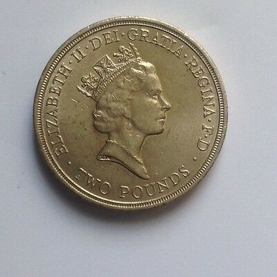 COIN COMMONWEALTH GAMES -1986 £2coin