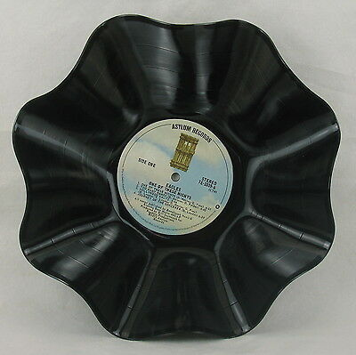 """EAGLES Record Bowl """"One Of These Nights"""" (1975) Recycled Rock Album LP"""