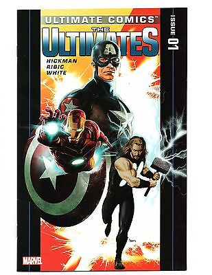 The Ultimates #1 FN/VF October 2011 Marvel Ultimate Comics Hickman Ribic White