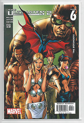 The Ultimates 2 Issue #6 The Defenders Marvel Comics VF/NM 2005 Millar Hitch