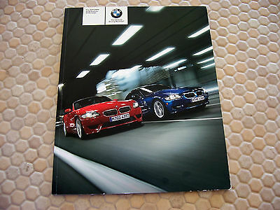Bmw Official Z4 M Roadster M Coupe Prestige Sales Brochure 2006 Usa Edition