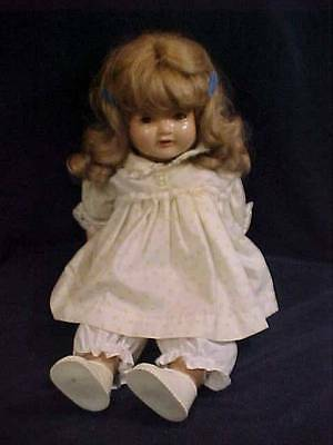 "Vintage Doll - 18"" American Character Doll Composition"