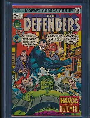 Defenders # 33 CGC NM 9.6 White pages