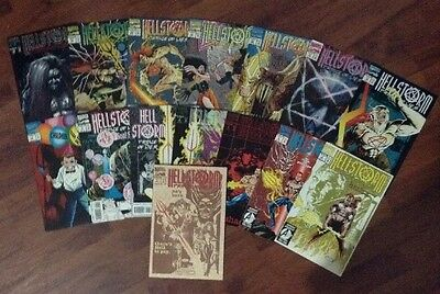 Hellstorm Prince Of Lies Lot Of 15 Marvel Superheroes Comic Books