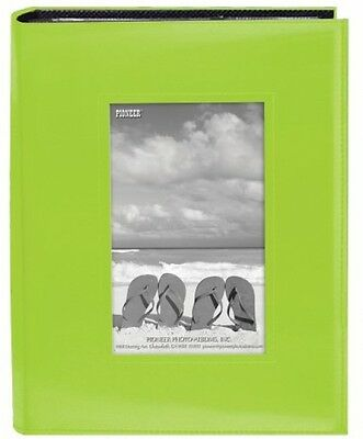 Pioneer Photo Albums FRM-246C 200-Pocket Sewn Leatherette Frame Cover Photo