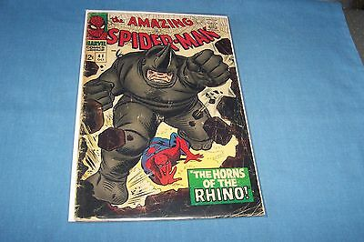 Amazing Spider-Man 41 Rhino First Appearance