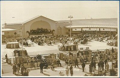 RP Postcard - Bandstand, Worthing, West Sussex