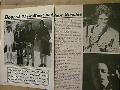 The Doors, Three Page Vintage Clipping