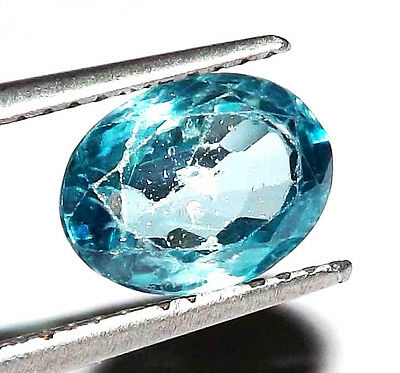 3.60 cts 100% Natural Earth Mined Cambodian Blue Zircon Gemstone  #bbza116