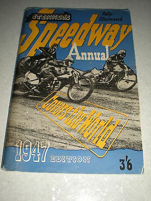 1947 Stenners speedway annual