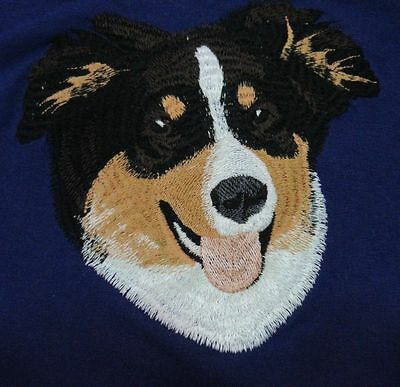 Embroidered Men's Polo - Australian Shepherd I1242 Sizes S - XXL