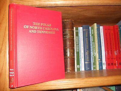 The Polks of North Carolina And Tennessee Genealogy Book