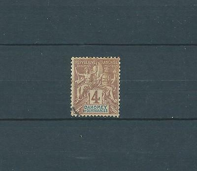 Dahomey - 1899 Yt 8 - Timbre Obl. / Used