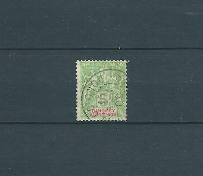 Dahomey - 1899 Yt 9 - Timbre Obl. / Used