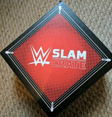 Official WWE Slam Crate #1 Full Set Box **Retired Sold Out** Low Print