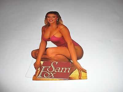 "Samantha Fox - 13""x7"" Cardboard ""Stand-up"""