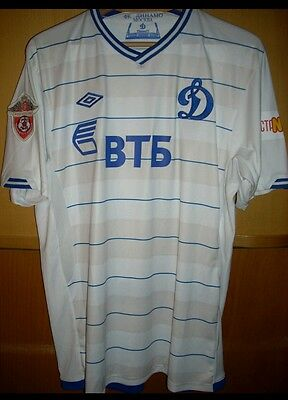 Dinamo Moscow (Russia) Official Away Shirt #10