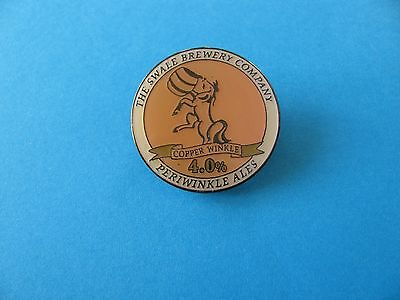 """"""" Copper Winkle """" Periwinkle Ales, Swale Brewery Company Beer pin badge."""