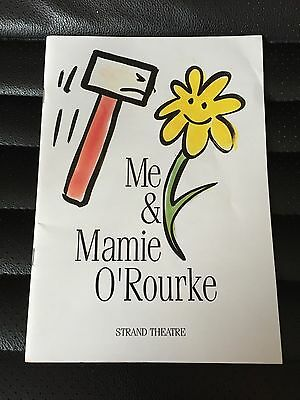 Me & Mamie O'rourke Strand Theatre Programme French & Saunders 1993