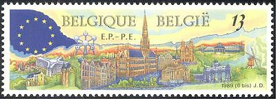 Belgium 1989 European Elections/Brussels/Views/Buildings/Politics 1v (n43253)