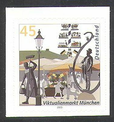 Germany 2003 Munich/German Cities/Market/Flowers/Commerce 1v s/a (n37062)