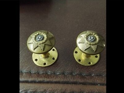 Ww1 Ww2 East Yorkshire Regiment Screw Back Officer's Tunic Buttons