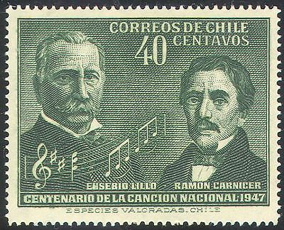 Chile 1947 National Anthem/Music/Composers/Lillo/Carnicer/Score 1v (n40937)