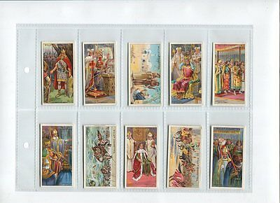 Cigarette Cards: W D & H O Wills:The Coronation Series: Full Set of 50: 1911