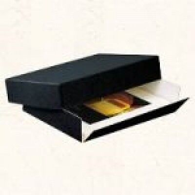 Lineco Museum Quality Drop-Front Storage Boxes 11 In. X 14 In. X 1.5 In. Black