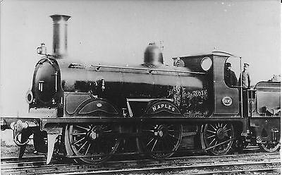 """LBSCR No. 306 STROUDLEY 'D2' CLASS """"NAPLES"""" - NEWHAVEN BOAT TRAINS 1878-1900"""