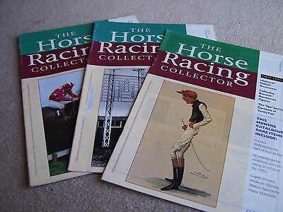Issues 2 3 & 4 1994-95 The Horse Racing Collector magazine / catalogue