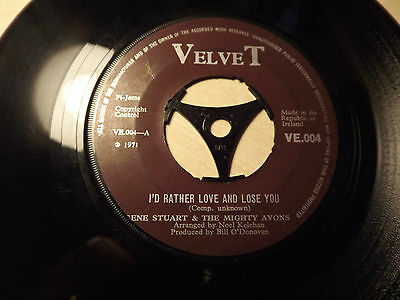 Gene Stuart & The Mighty Avons....I,d Rather Love And Lose You.....45rpm