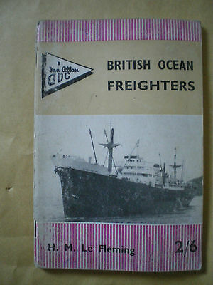 Abc British Ocean Freighters Booklet - Ian Allan